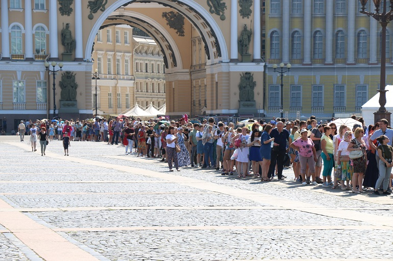 Don't queue to the Hermitage